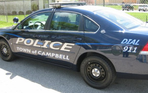 Campbell Police Car