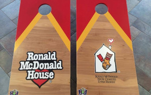 Ronald McDonald Bean Bag Boards