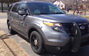 Town of Campbell Police SUV
