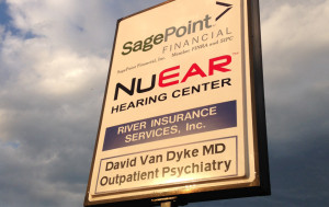 SagePoint Lighted Sign
