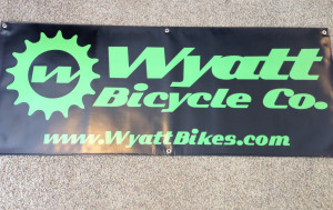 Wyatt Bicycle Co. Banner