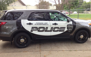 Campbell Police SUV Vehicle Wrap