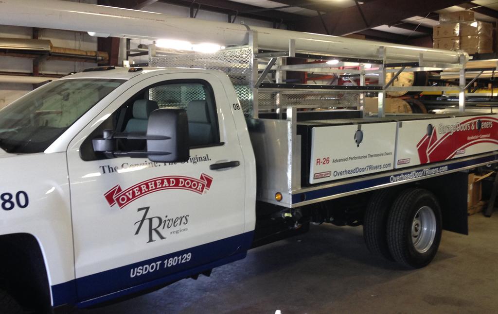 Overhead Door Truck Lettering Klings Designs